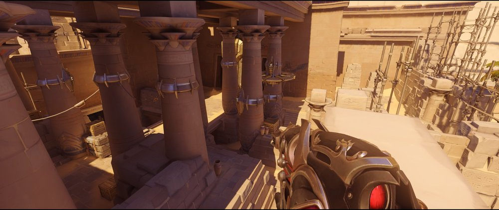 Pillars view attack Widowmaker sniping spot Temple of Anubis Overwatch.jpg