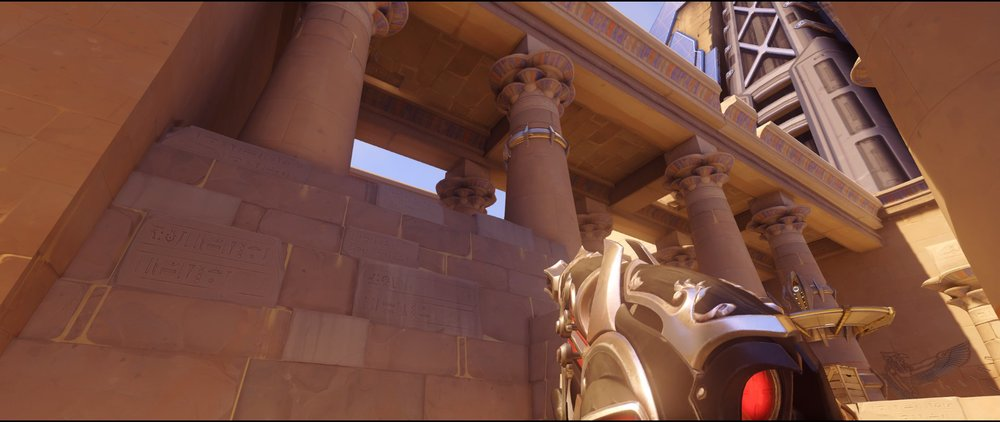 High ground alley attack Widowmaker sniping spot Temple of Anubis Overwatch.jpg