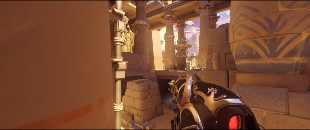 Left side view two attack Widowmaker sniping spot Temple of Anubis Overwatch.jpg