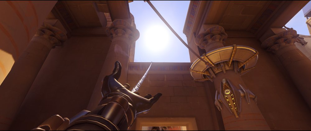 Gate point two defense Widowmaker sniping spots Temple of Anubis Overwatch.jpg