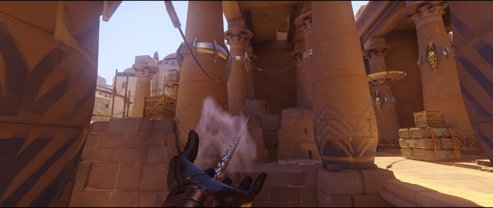 High ground alley defense Widowmaker sniping spots Temple of Anubis Overwatch.jpg