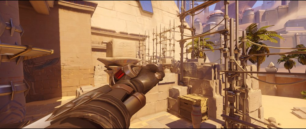 Near Alley high ground point two defense Widowmaker sniping spots Temple of Anubis Overwatch.jpg