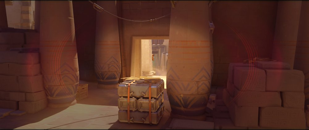 Right side point high ground defense Widowmaker sniping spots Temple of Anubis Overwatch.jpg