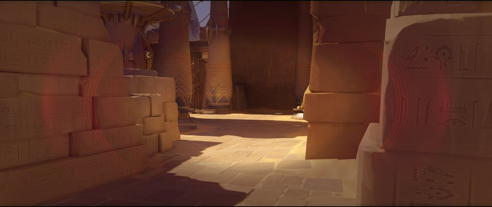 Left side second point ground level defense Widowmaker sniping spots Temple of Anubis Overwatch.jpg