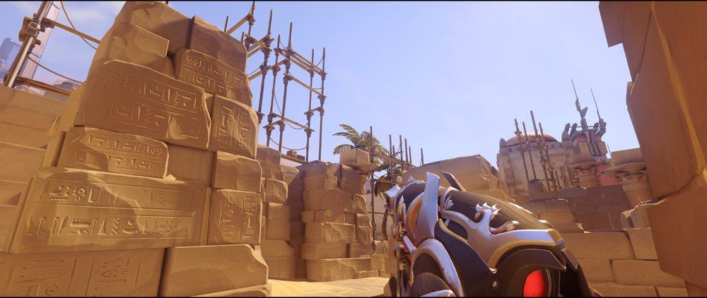 Left side high ground defense Widowmaker sniping spots Temple of Anubis Overwatch.jpg