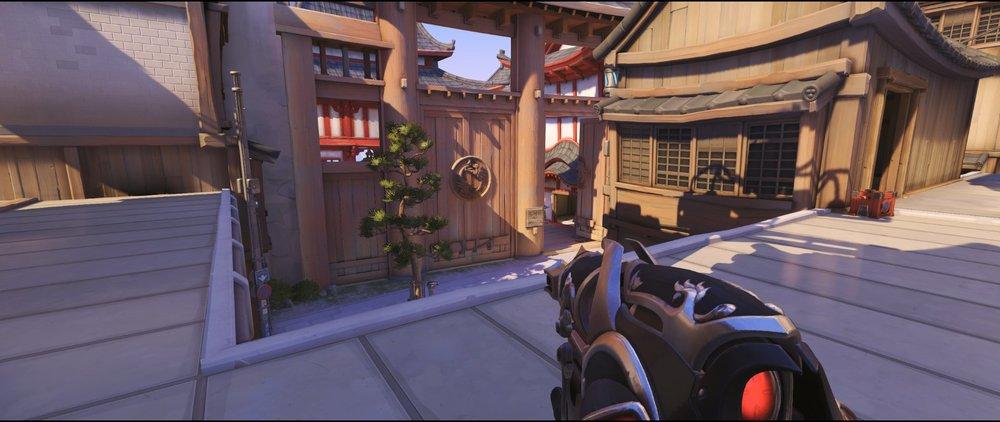 Bridge offense Widowmaker sniping spot Hanamura Overwatch.jpg
