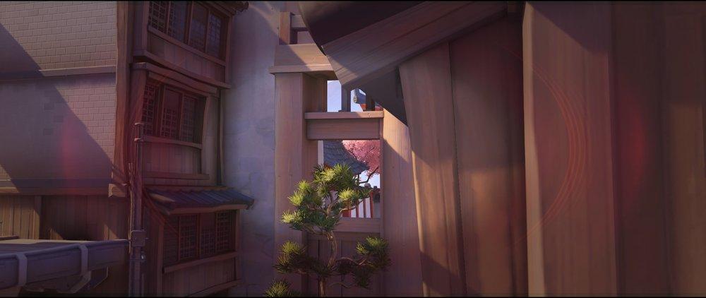 Brigde view two offense Widowmaker sniping spot Hanamura Overwatch.jpg