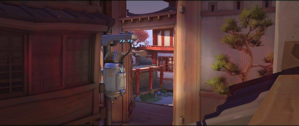 Catwalk view two offense Widowmaker sniping spot Hanamura Overwatch.jpg