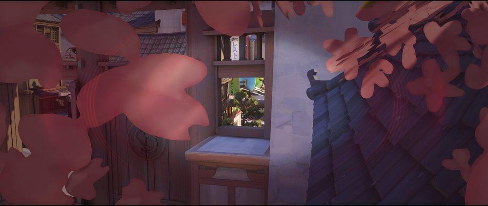 Tree right view defense Widowmaker sniping spot Hanamura Overwatch.jpg