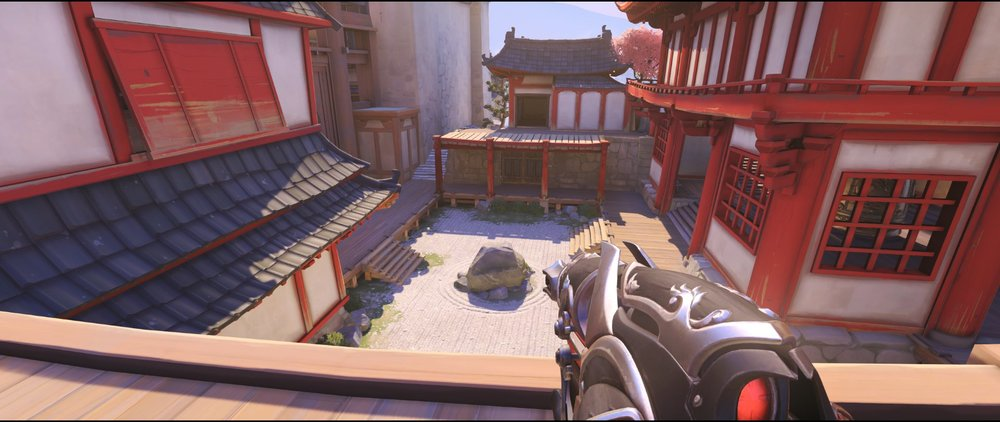 Bridge view defense Widowmaker sniping spot Hanamura Overwatch.jpg