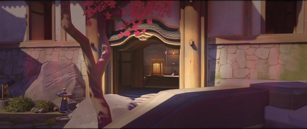 Stairs view mid attack Widowmaker sniping spot Hanamura Overwatch.jpg