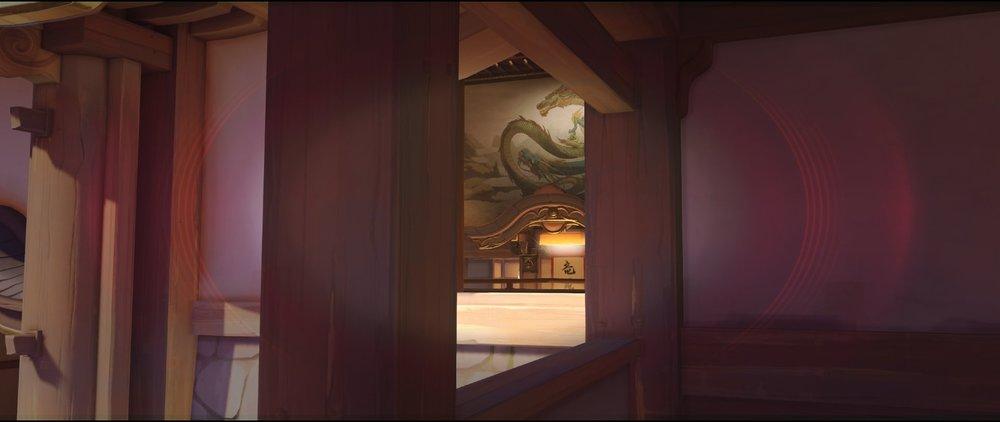 Hall view high ground attack Widowmaker sniping spot Hanamura Overwatch.jpg
