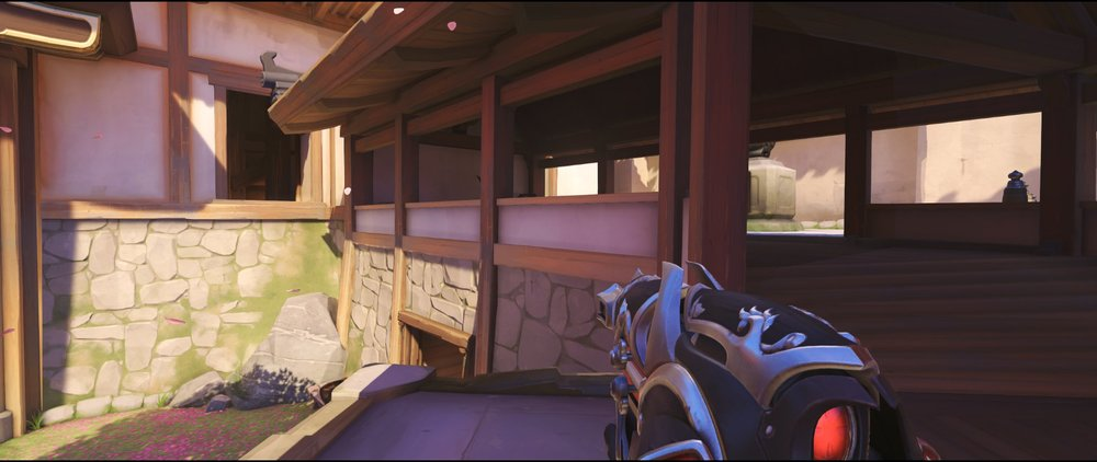 Stairs to Hall attack Widowmaker sniping spot Hanamura Overwatch.jpg