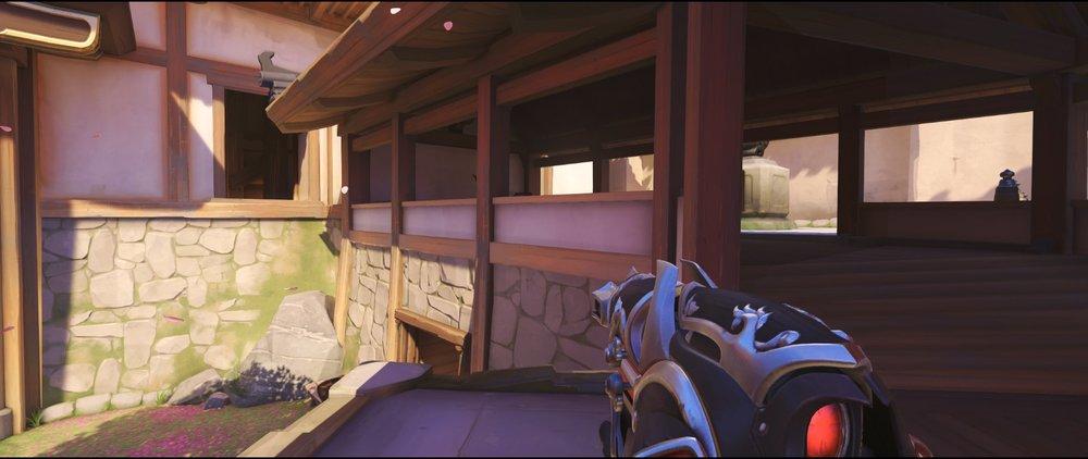 Stairs to Hall attack Widowmaker sniping spot Hanamura Overwatch.jpg