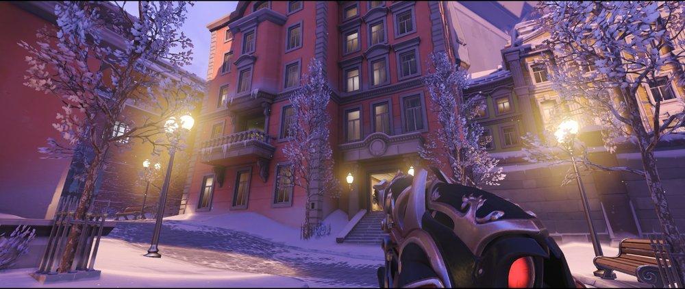 Manor attack sniping spot Widowmaker Volskaya Industries Overwatch.jpg