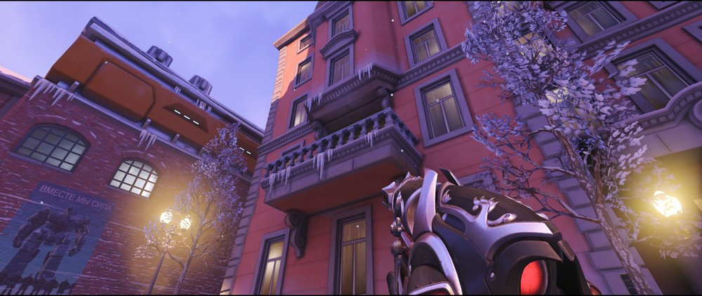 Manor balcony attack sniping spot Widowmaker Volskaya Industries Overwatch.jpg