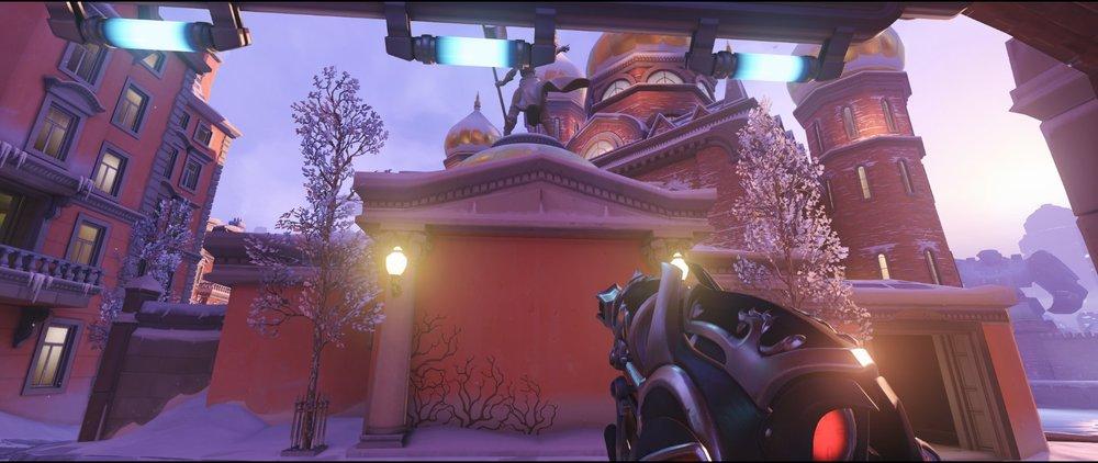 Shrine defense sniping spot Widowmaker Volskaya Industries Overwatch.jpg