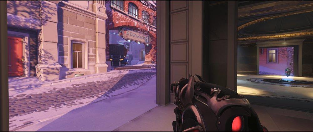 Shrine inside attack sniping spot Widowmaker Volskaya Industries Overwatch.jpg