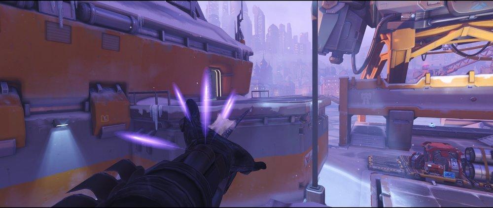 Hut to comms attack sniping spot Widowmaker Volskaya Industries Overwatch.jpg