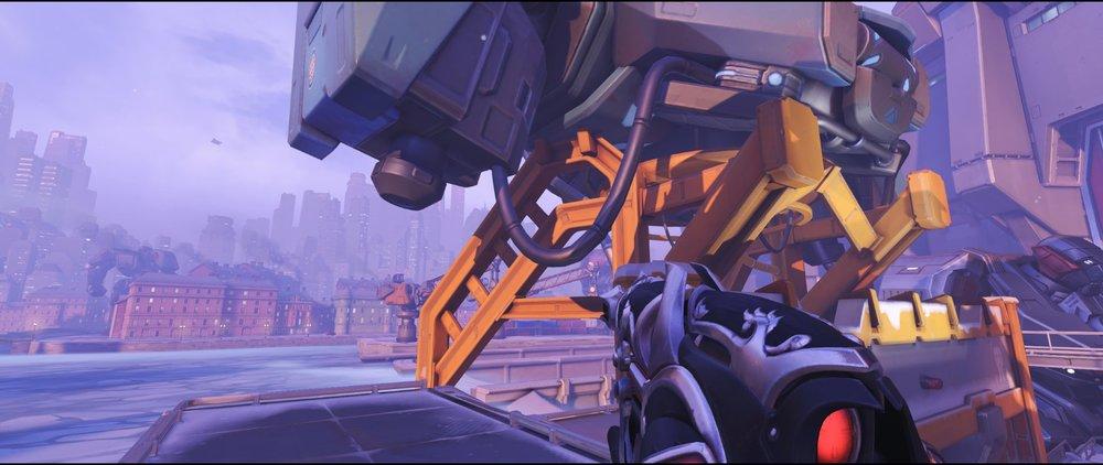 Robot attack sniping spot Widowmaker Volskaya Industries Overwatch.jpg