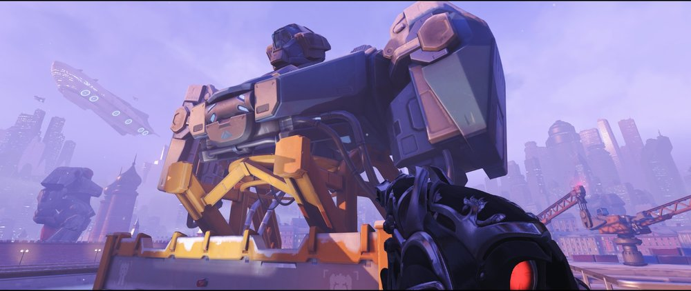 Robot defense sniping spot Widowmaker Volskaya Industries Overwatch