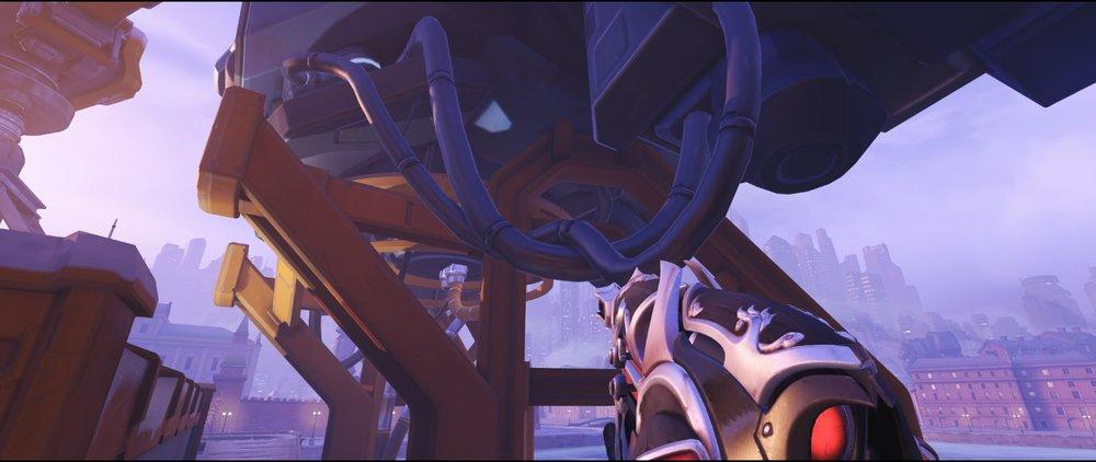 Robot first cable defense sniping spot Widowmaker Volskaya Industries Overwatch.jpg