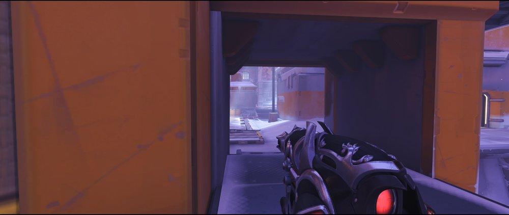 Right side dock defense sniping spot Widowmaker Volskaya Industries Overwatch.jpg