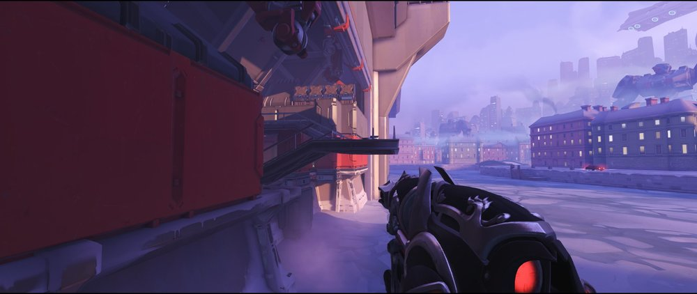 Right side flank attack sniping spot Widowmaker Volskaya Industries Overwatch.jpg
