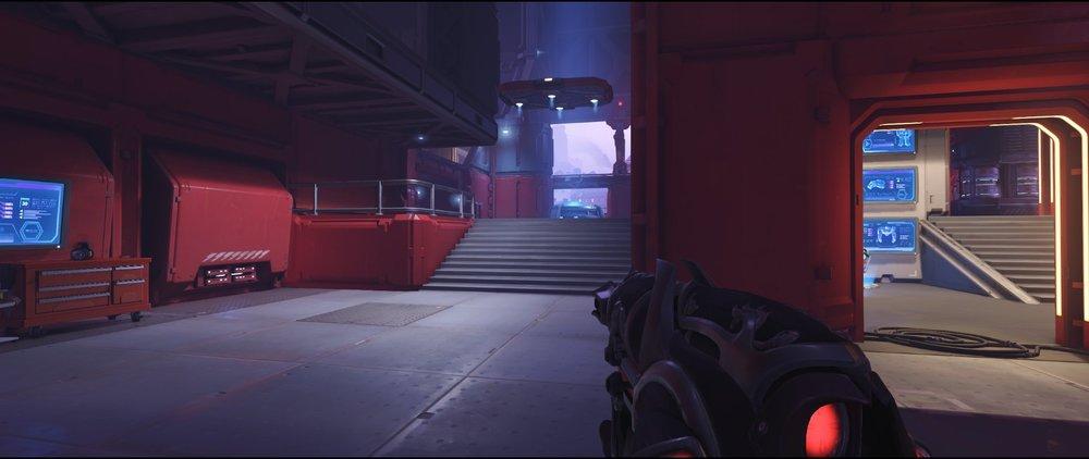 Pit ground level attack sniping spot Widowmaker Volskaya Industries Overwatch.jpg