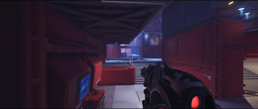 Pit ground level defense sniping spot Widowmaker Volskaya Industries Overwatch.jpg