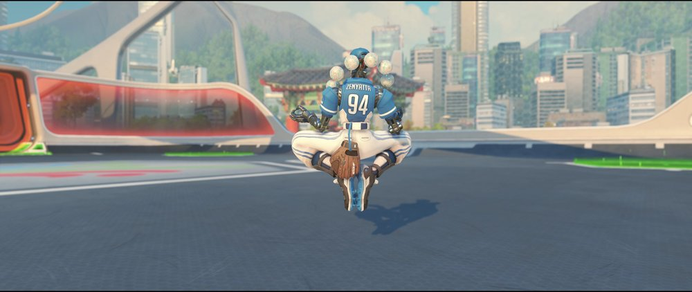 Fastball back legendary skin Zenyatta Summer Games.jpg