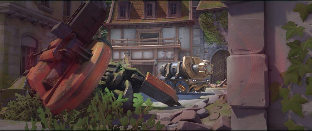 Tank left side attack sniping spot Widowmaker Eichenwalde Overwatch.jpg