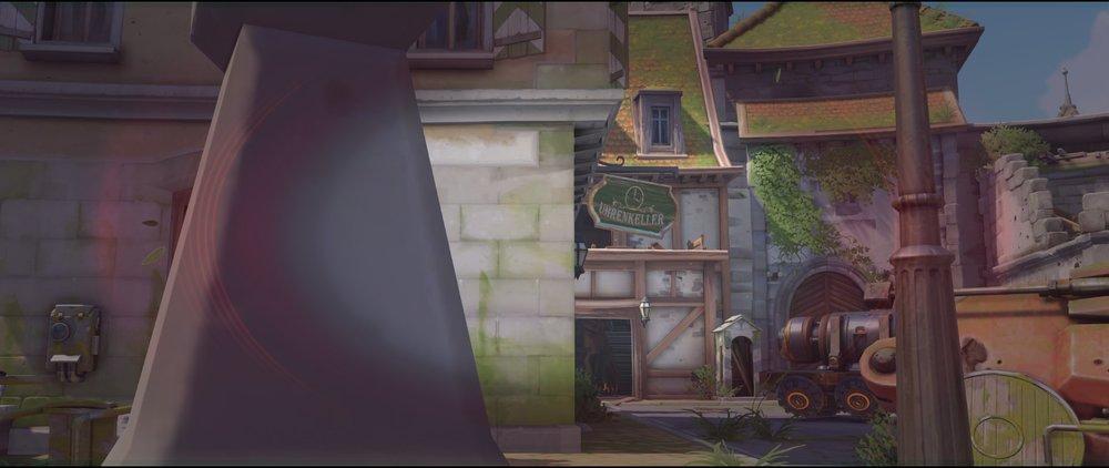Alley wall to high ground attack sniping spot Widowmaker Eichenwalde Overwatch.jpg