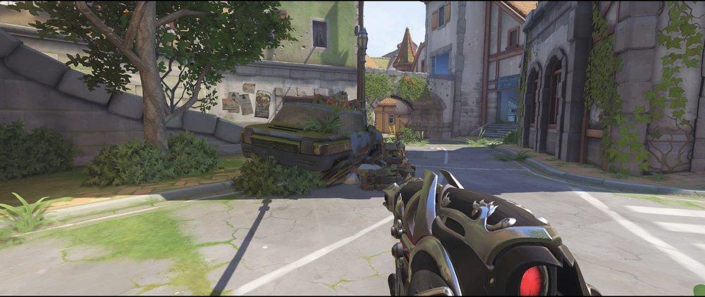 Car placement defense sniping spot Widowmaker Eichenwalde Overwatch.jpg