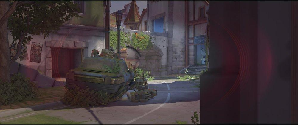 Building behind car defense sniping spot Widowmaker Eichenwalde Overwatch.jpg
