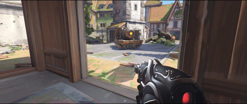 Lodge ground level defense sniping spot Widowmaker Eichenwalde Overwatch.jpg