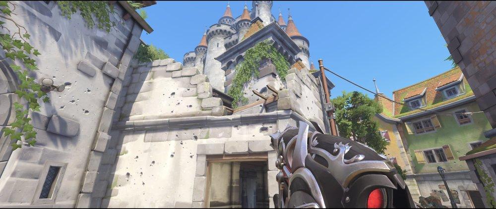 Main gate attack sniping spot Widowmaker Einchenwalde Overwatch.jpg