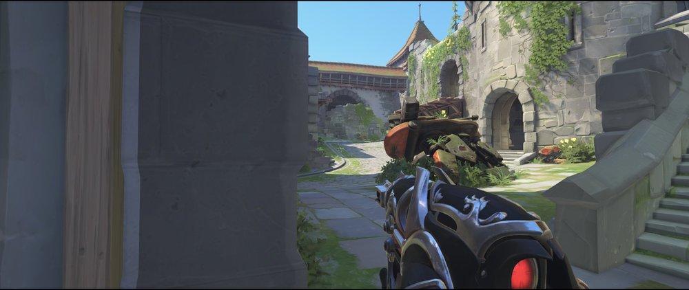 Right side gate attack sniping spot Widowmaker Einchenwalde Overwatch.jpg