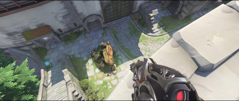 View main placement castle walls defense sniping spot Widowmaker Einchenwalde Overwatch.jpg