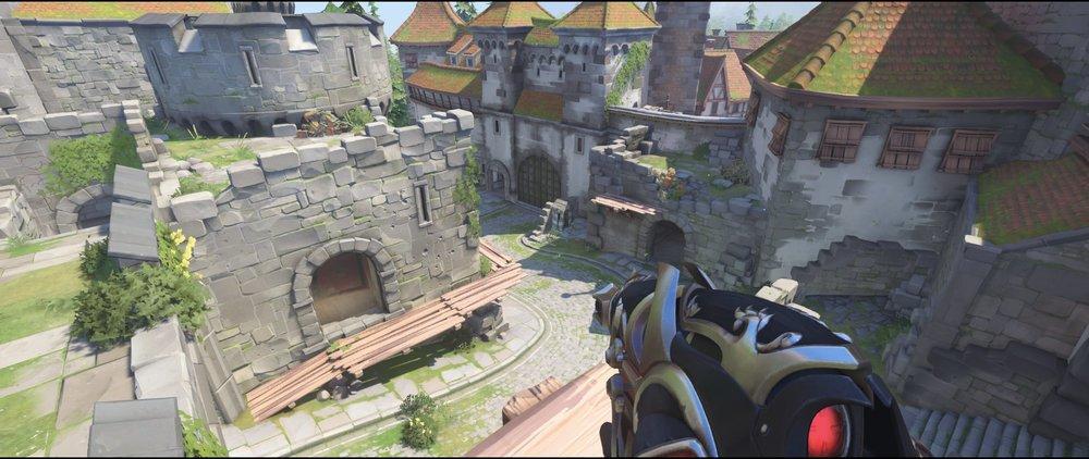 Best high ground view defense castle walls sniping spot Widowmaker Einchenwalde Overwatch.jpg