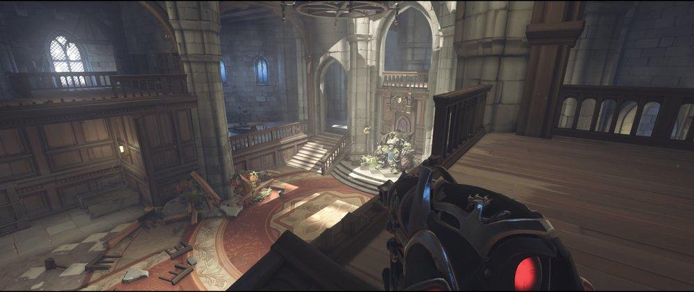 Gallery right attack sniping spot Widowmaker Einchenwalde Overwatch.jpg