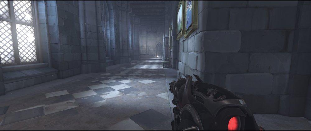 Hall to flank route attack sniping spot Widowmaker Einchenwalde Overwatch.jpg
