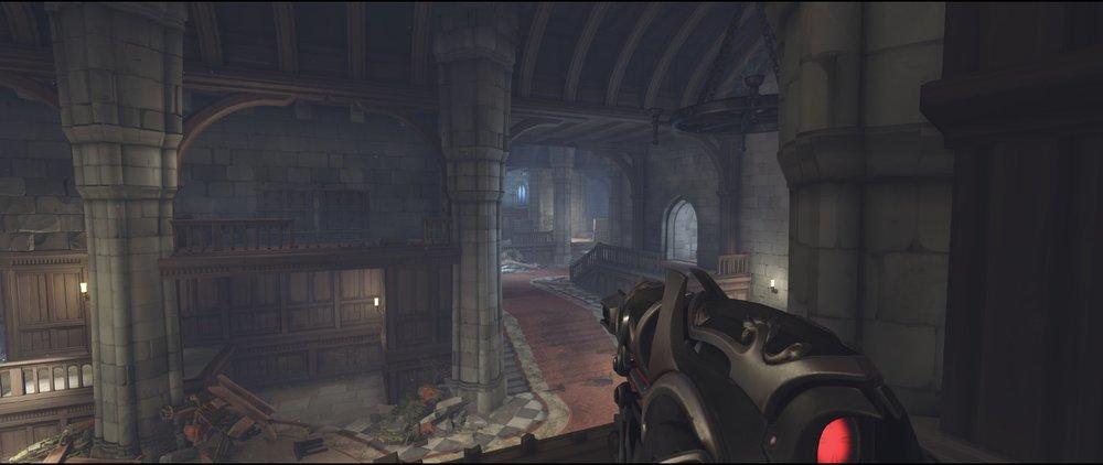 Left hall defense sniping spot Widowmaker Einchenwalde Overwatch.jpg