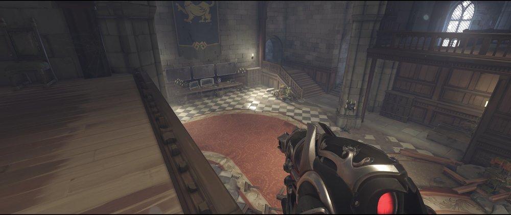 Right hall defense sniping spot Widowmaker Einchenwalde Overwatch.jpg