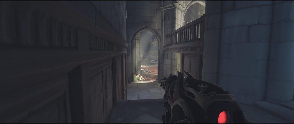 Left spawn defense sniping spot Widowmaker Einchenwalde Overwatch.jpg