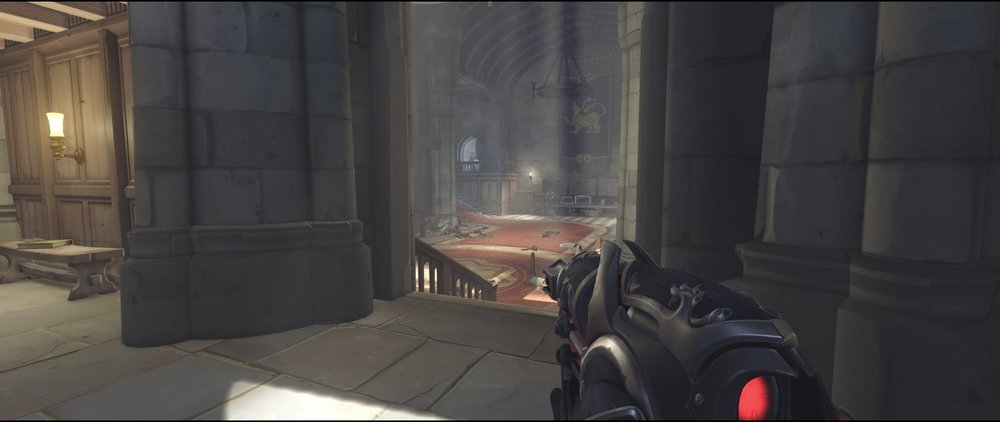 Right side pillars defense sniping spot Widowmaker Einchenwalde Overwatch.jpg