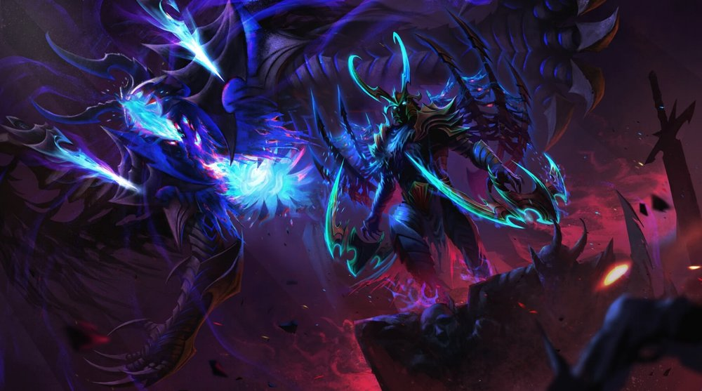 Foulfell Corruptor loading screen for Terrorblade - Valve