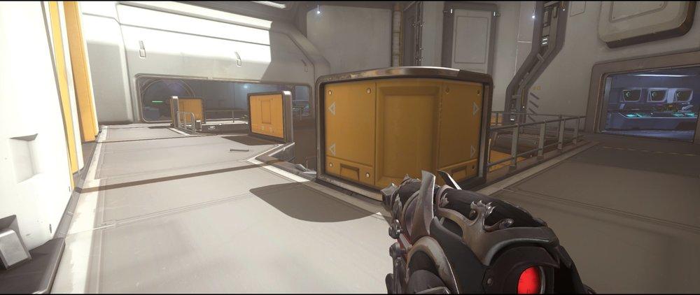 Catwalk defense sniping spot Widowmaker Horizon Lunar Colony Overwatch