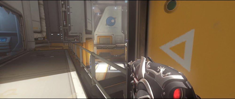 Catwalk+five+defense+sniping+spot+Widowmaker+Horizon+Lunar+Colony+Overwatch