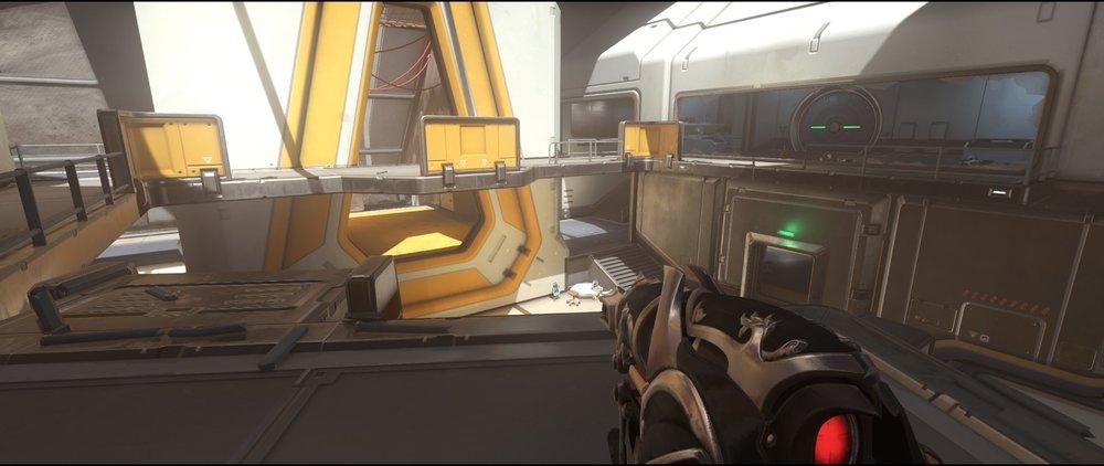 Catwalk+to+point+defense+sniping+spot+Widowmaker+Horizon+Lunar+Colony+Overwatch